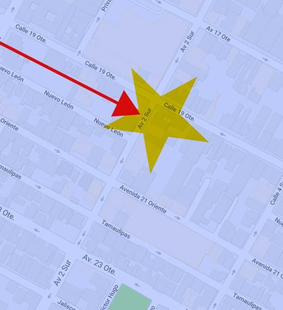 Mapa de ubicacion de reflex corporacion