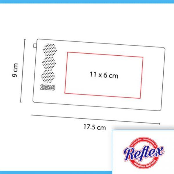 AGENDA DE BOLSILLO TERRA 2020 ROSA AGBT 020 P Reflex Puebla - 3