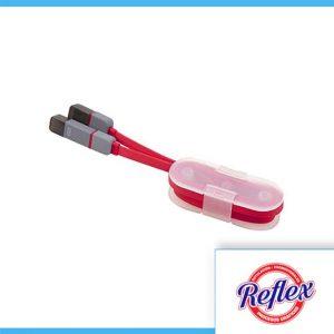 CABLE DHENA COLOR ROJO CEL 018 R Reflex Puebla - 1