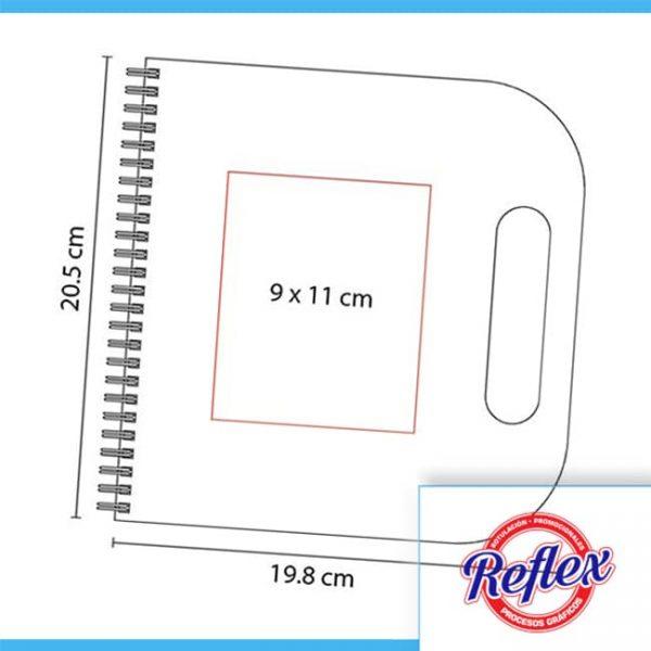 LIBRETA SAVOIA COLOR BEIGE HL 120 BE Reflex Puebla - 3