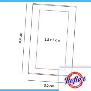 PORTA NOTAS VENTALL COLOR BLANCO HL 6035 B Reflex Puebla - 2
