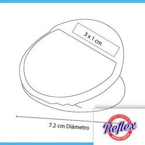 CLIP PORTA NOTAS CARVI COLOR BLANCO HL 6500 B Reflex Puebla - 2