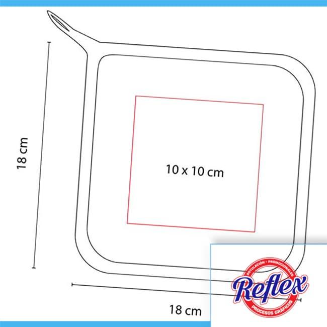 AGARRADERA CHOP KTC 005 Reflex Puebla - 1