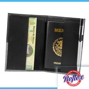 PORTA PASAPORTE BROOME COLOR NEGRO M 80122 N Reflex Puebla - 2