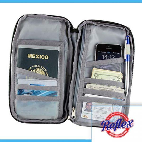 PORTA PASAPORTE SKANA M 80640 N Reflex Puebla - 2