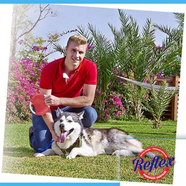 DISCO VOLADOR LAIKA COLOR ROJO PET 002 R Reflex Puebla - 2