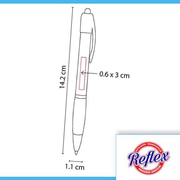 BOLíGRAFO GLACIER COLOR AMARILLO SH 2075 Y Reflex Puebla - 2