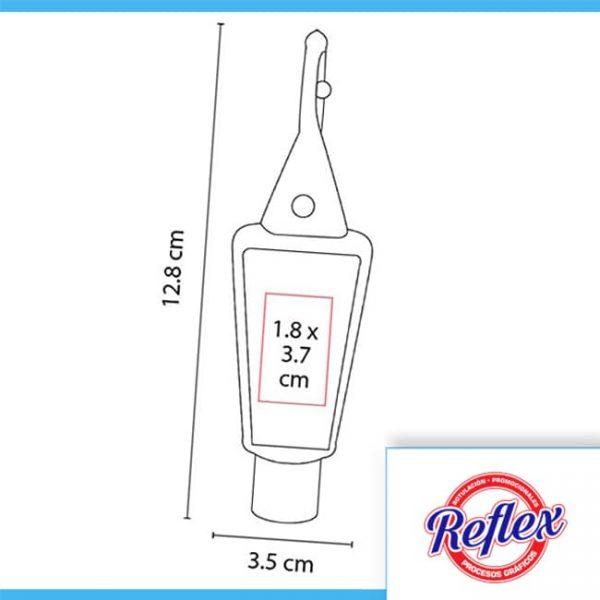 GEL ANTIBACTERIAL HELDER COLOR AZUL SLD 008 A Reflex Puebla - 2