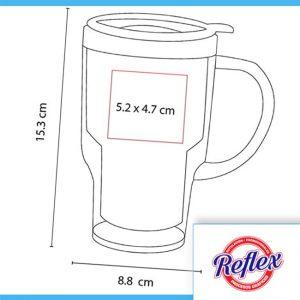 TERMO LIBERTY COLOR ROJO TMPS 17 R Reflex Puebla - 2