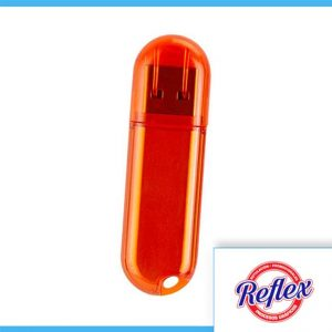 USB ARGOS 4 GB COLOR NARANJA USB 013 O Reflex Puebla - 1