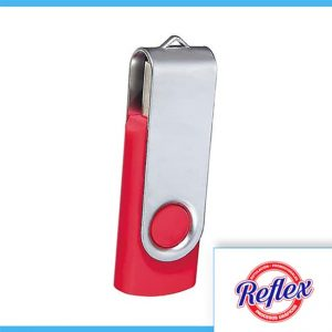 USB FLOPPY 8 GB COLOR ROJO USB 031 R Reflex Puebla - 1